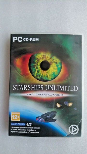 Starships Unlimited Divided Galaxies (PC: Windows, 2001)